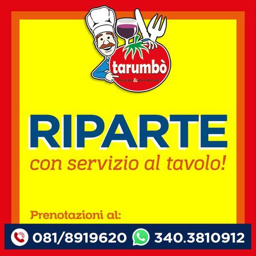 pizzeria tarumbò_copertina servizio al tavolo